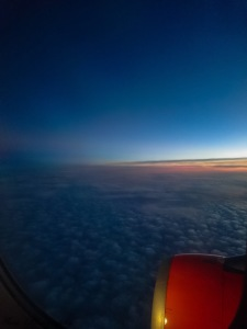 Sky from the plane